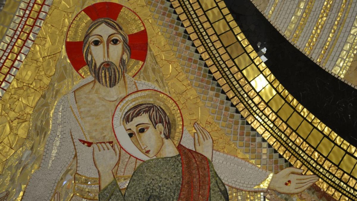 Apostol Tomaž z Jezusom Kristusom
